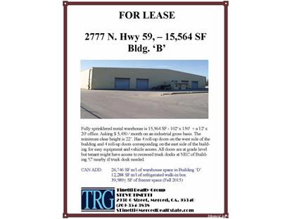 2777 North State Highway B & D 59 , Merced, CA