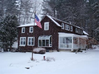 3448 Upper Cold River Road Shrewsbury, VT MLS# 4790044