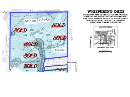 Lot 21 Autumn Oak Lane  Hudson, WI MLS# 5541279