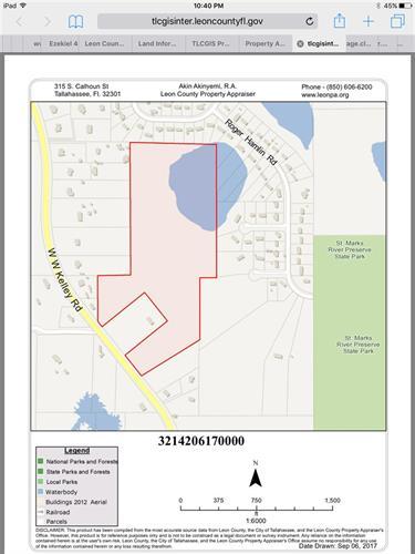 XXXX WW Kelley Road Tallahassee FL 32311 For Sale MLS 285820