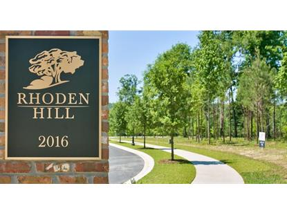 Lot 4 Rhoden Hill Way  Tallahassee, FL MLS# 272868