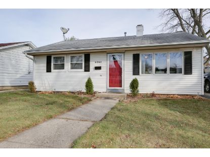 6343 49th Ave  Kenosha, WI MLS# 1719398