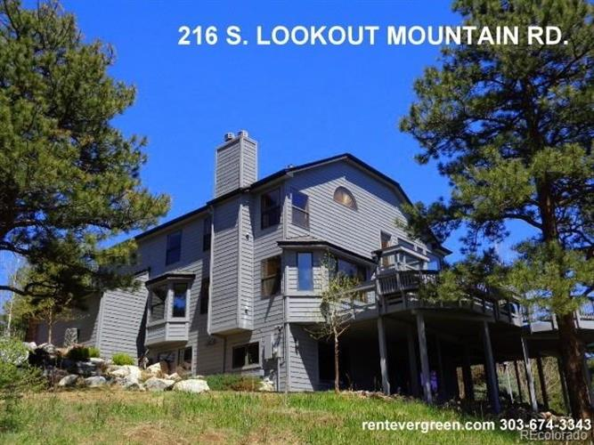216 South Lookout Mountain Road, Golden, CO 80401