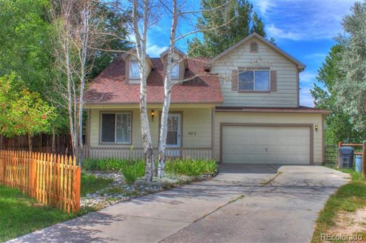 443 Lionel Lane, Elizabeth, CO 80107