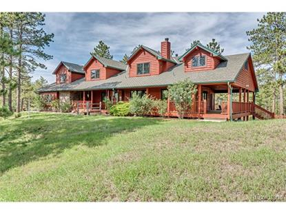 5014 South Perry Park Road Sedalia, CO MLS# 6663533