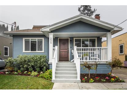 224 Hillview Avenue Redwood City, CA MLS# ML81734926