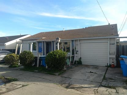 1042 Montgomery Avenue San Bruno, CA MLS# ML81736084
