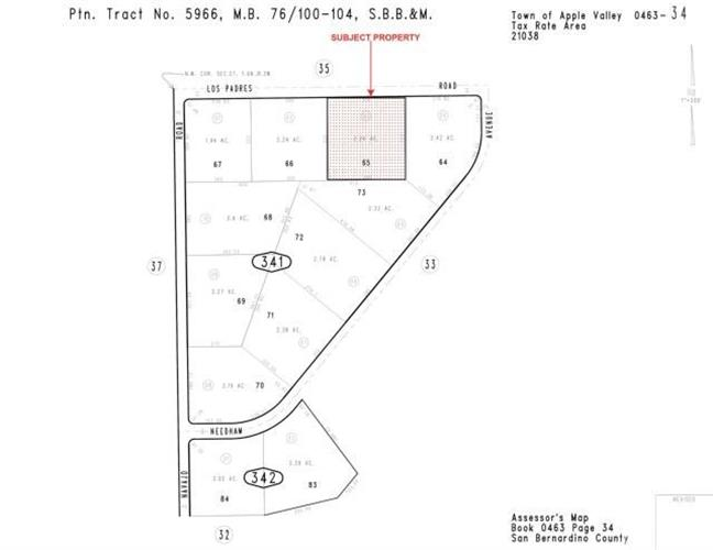 0 Lot 3- Los Padres Rd, Apple Valley, CA 92307