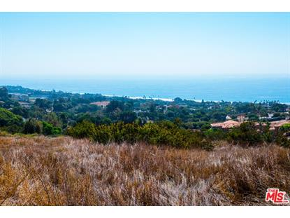 1 Sea View Drive  Malibu, CA MLS# 17282064