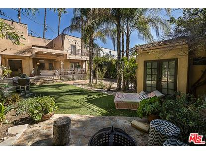 1029 N LA JOLLA Avenue West Hollywood, CA MLS# 18332140