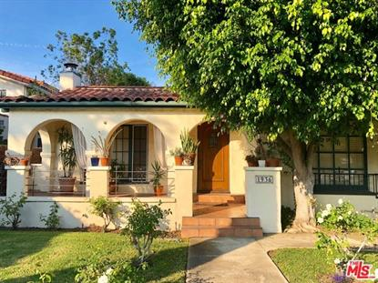 1936 VETERAN Avenue Los Angeles, CA MLS# 18375976