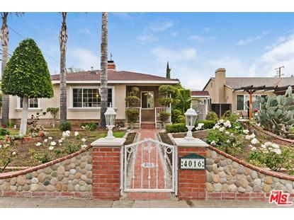 4016 ALBRIGHT Avenue Culver City, CA MLS# 18414196