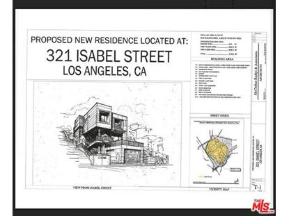321 Isabel Street Los Angeles, CA MLS# 18415256