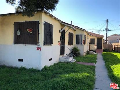 224 W 101ST Street Los Angeles, CA MLS# 19432770