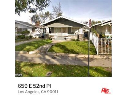 659 E 52ND Place Los Angeles, CA MLS# 19435394