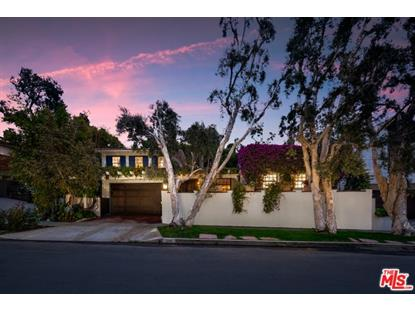 548 DRYAD Road Santa Monica, CA MLS# 19477906