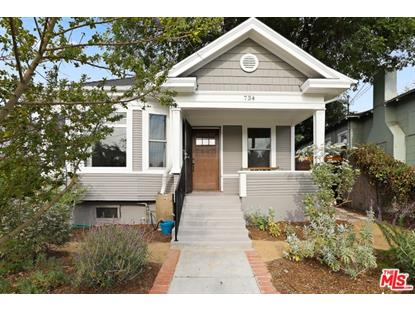 734 MILO Terrace Los Angeles, CA MLS# 19478132