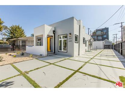 2417 Walnut Avenue Venice, CA MLS# 20598488