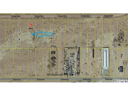 0 Forest- Boulevard California City, CA MLS# 318004910