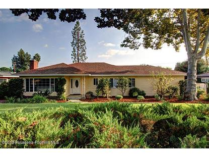 3810 Fairmeade Road Pasadena, CA MLS# 818005074