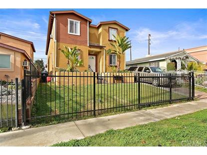 9121 Menlo Avenue Los Angeles, CA MLS# CV19015629