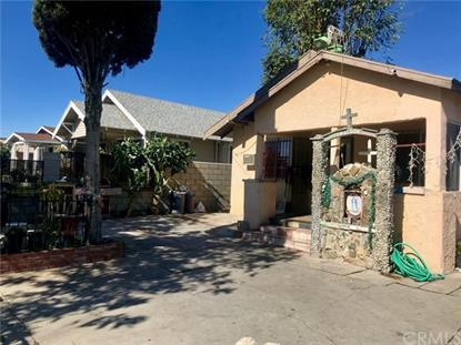 909 W 77th Street Los Angeles, CA MLS# CV19032851