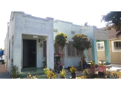 330 332 W 56th Street Los Angeles, CA MLS# DW18204494