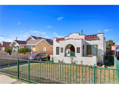 743 S Vancouver Avenue Los Angeles, CA MLS# IV19002135