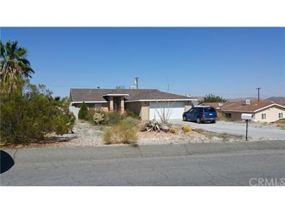6772 Indian Cove  29 Palms, CA MLS# JT17187641