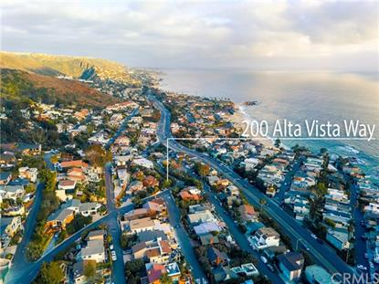 200 Alta Vista Way Laguna Beach, CA MLS# LG18238860