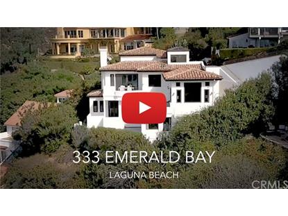 333 EMERALD BAY  Laguna Beach, CA MLS# LG18261846