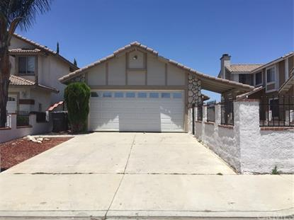 24070 Poppystone Drive Moreno Valley, CA MLS# MB17168598