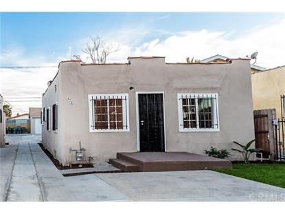 428 E 108th Street Los Angeles, CA MLS# ND18259772