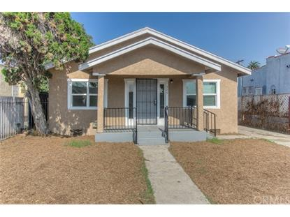 205 W 110th Street Los Angeles, CA MLS# OC18246665