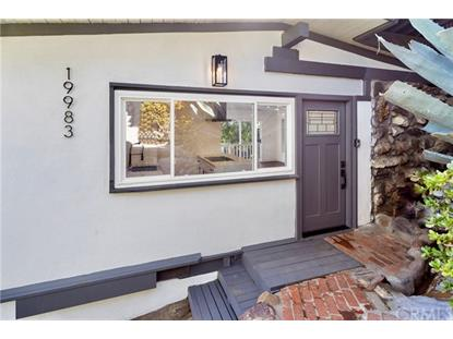 19983 Valley View Drive Topanga, CA MLS# OC20123930