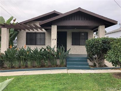 120 W 127th Street Los Angeles, CA MLS# PW18289404