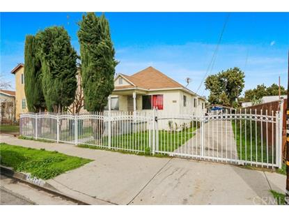 1741 E 63rd Street Los Angeles, CA MLS# PW19032319