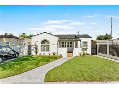 7842 La Salle Avenue Los Angeles, CA MLS# PW20133001