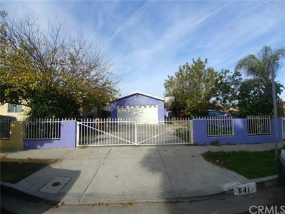 641 E 119th Street Los Angeles, CA MLS# SB19006938