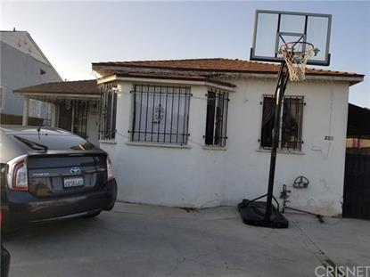 221 E 111th Street Los Angeles, CA MLS# SR18137118