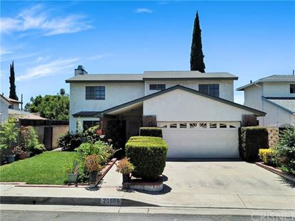 20808 Rodax  Winnetka, CA MLS# SR20136809