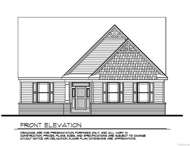 000 Deerpath Estates Lot # 2, Brandon, MI 48462