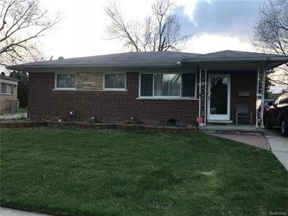 24825 RIDGECROFT AVE  Eastpointe, MI MLS# 218035930