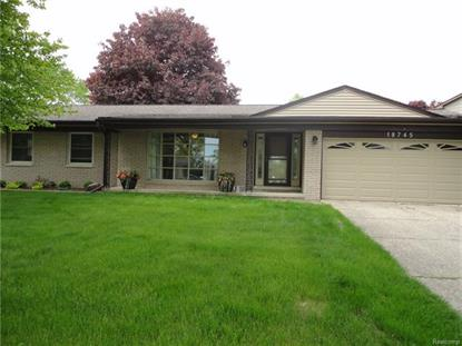 18745 FAIRWAY ST  Livonia, MI MLS# 218044617