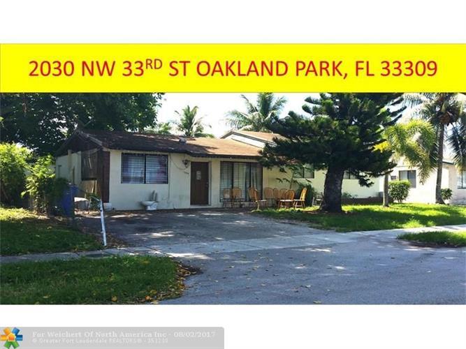 Nw  St Oakland Park Fl Property Taxes