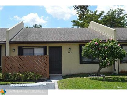607 N Banks Rd  Margate, FL MLS# F10001645
