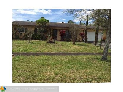 1121 NW 75 AVE Plantation, FL MLS# F10001858