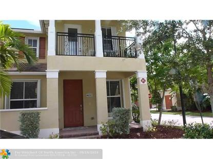 4676 Monarch Way # 4676 Coconut Creek, FL MLS# F10030275