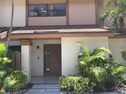 4692 NW 30th St # 4692 Coconut Creek, FL MLS# F10041391