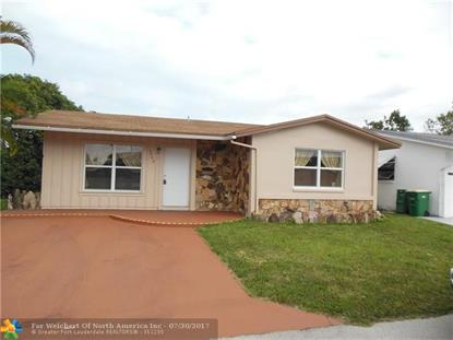 4949 NW 55th St  Tamarac, FL MLS# F10050432